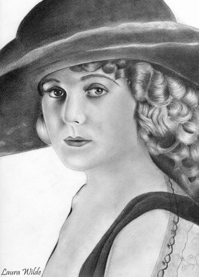 Edna Purviance por Rhodesia